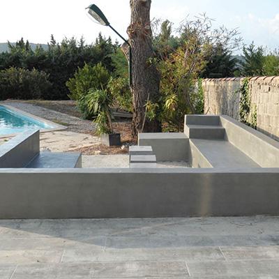 beton cire brut